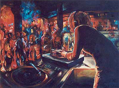 Awesome Dj's, The Artwork of Kally Williams
